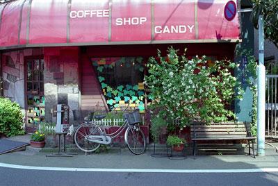 白金の自転車