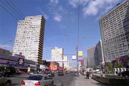 新アルバート通りの集合住宅群