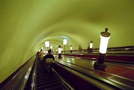 サンクト・ペテルブルグの地下鉄