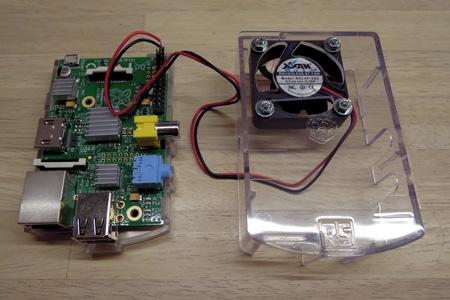Raspberry Pi にケースファンを接続