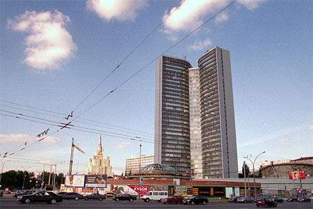 モスクワ市役所(旧コメコン本部)