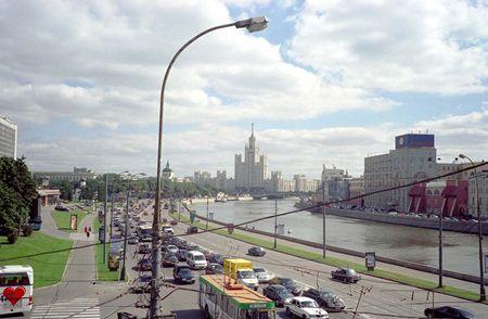 コテーリニチェスカヤ河岸通りの高層アパート