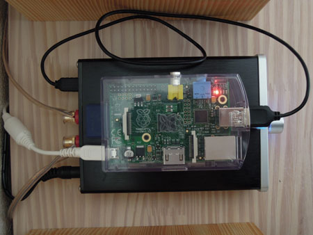 Raspberry Pi と Topping/TP23