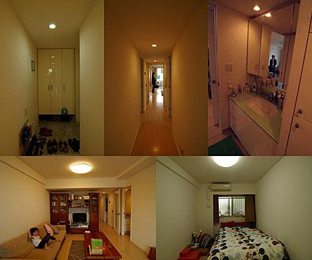 山手のマンション・リノベーション(改装前)